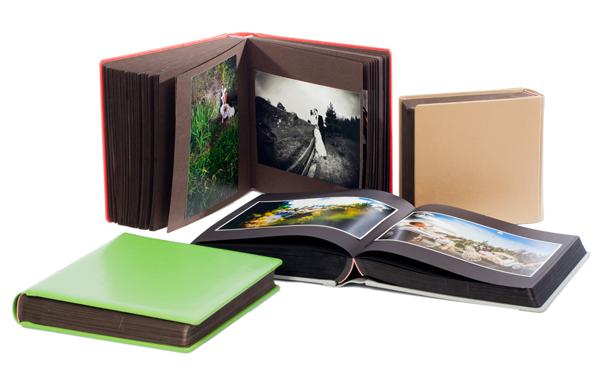 albumy fotograficzne wklejane